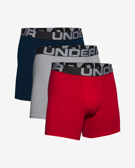 "Under Armour Charged Cotton® 6"" 3-pack Bokserice"