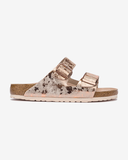 Birkenstock Arizona Vintage Metallic Rose Papuče