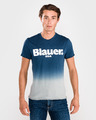 Blauer Shaded Majica